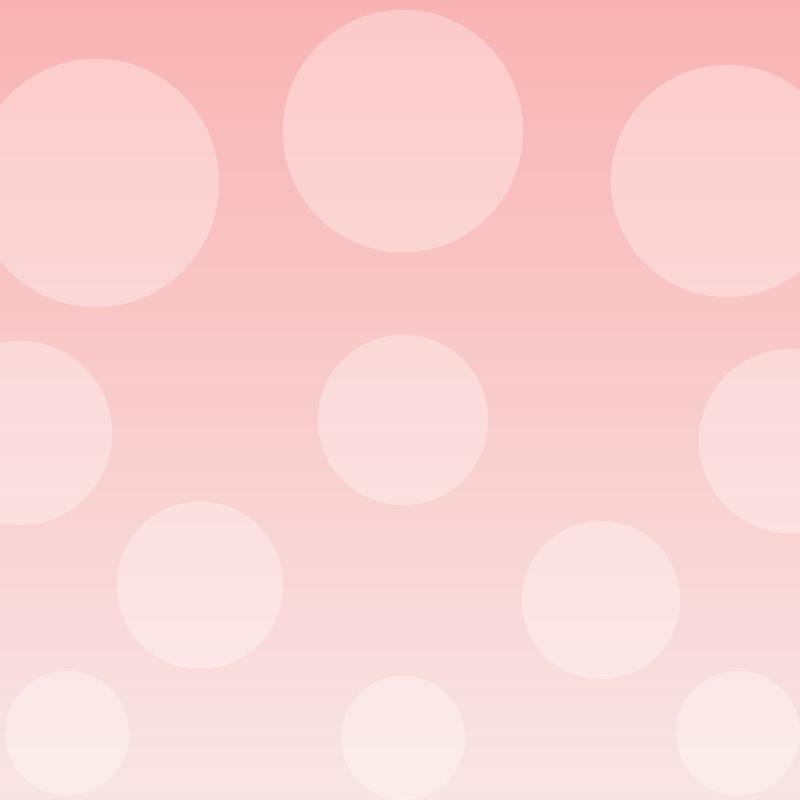 画像:水玉SNSアイコン用の壁紙 ピンク
