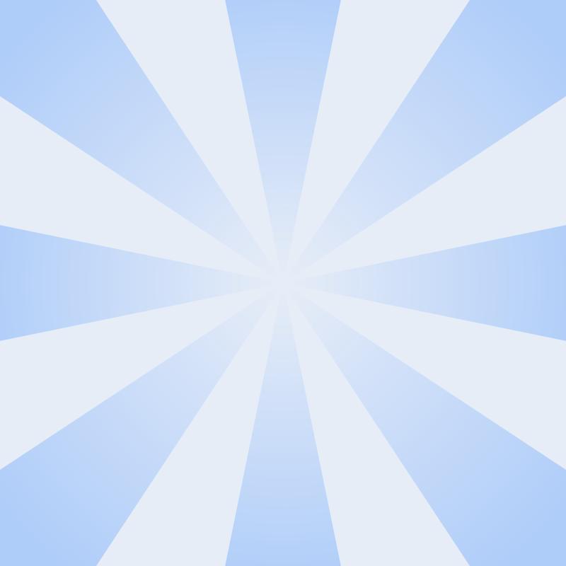 画像:放射状SNSアイコン用の壁紙 青