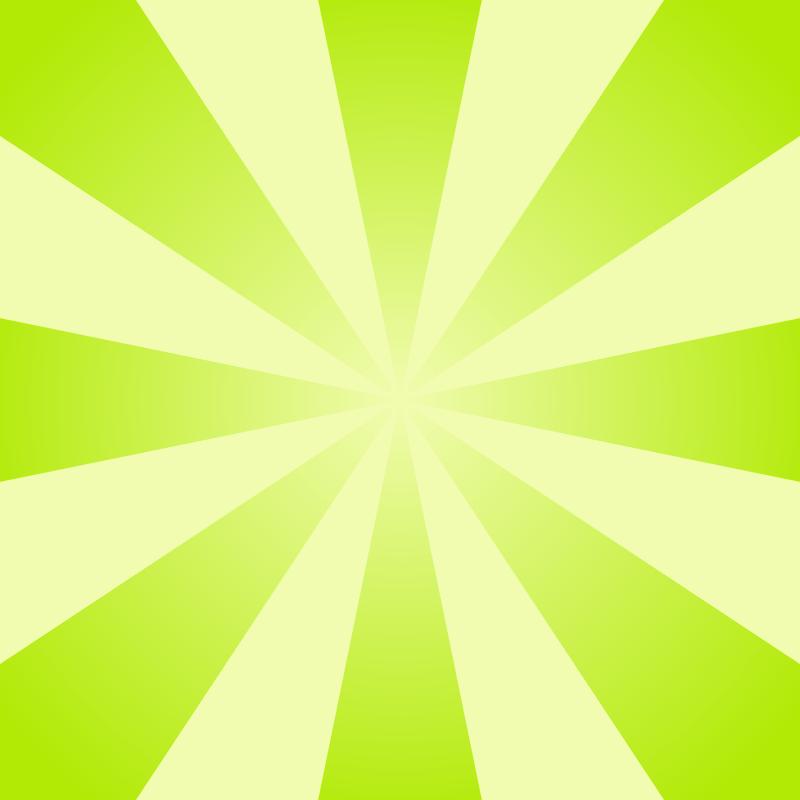画像:放射状SNSアイコン用の壁紙 緑