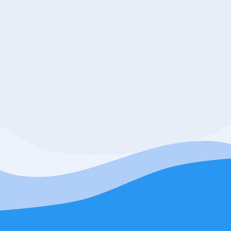 画像:波模様 SNSアイコン用の壁紙 青
