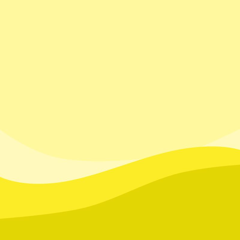 画像:波模様 SNSアイコン用の壁紙 黄色